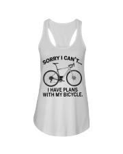 Cycle - I Have Plans With My Bicycle Ladies Flowy Tank thumbnail