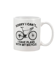 Cycle - I Have Plans With My Bicycle Mug thumbnail