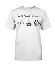 Kayaking - I'm A Simple Woman Classic T-Shirt thumbnail