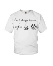 Kayaking - I'm A Simple Woman Youth T-Shirt thumbnail