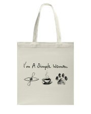 Kayaking - I'm A Simple Woman Tote Bag thumbnail