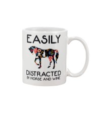 Horse - Easily Ditracted By Horse And Wine Mug thumbnail