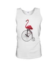 Cycle - Flamingo Unisex Tank thumbnail
