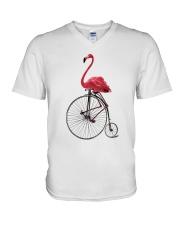 Cycle - Flamingo V-Neck T-Shirt thumbnail