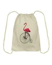 Cycle - Flamingo Drawstring Bag thumbnail