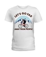 Cycle - Let's Go Far Ladies T-Shirt thumbnail