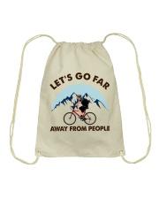 Cycle - Let's Go Far Drawstring Bag thumbnail