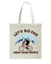 Cycle - Let's Go Far Tote Bag thumbnail