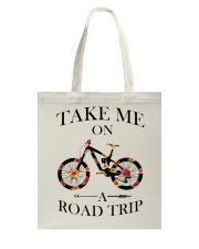 Cycle - Take Me On A Road Trip Tote Bag thumbnail