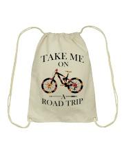 Cycle - Take Me On A Road Trip Drawstring Bag thumbnail