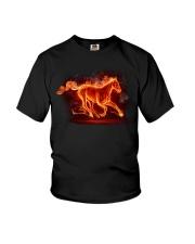 Horses - Horse Fire Youth T-Shirt thumbnail