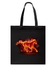 Horses - Horse Fire Tote Bag thumbnail
