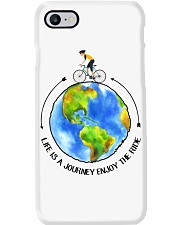 Cycle - Life Is A Journey Enjoy The Ride Phone Case thumbnail