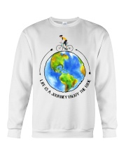 Cycle - Life Is A Journey Enjoy The Ride Crewneck Sweatshirt thumbnail
