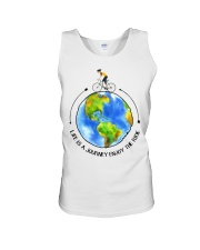 Cycle - Life Is A Journey Enjoy The Ride Unisex Tank thumbnail