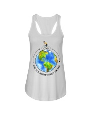 Cycle - Life Is A Journey Enjoy The Ride Ladies Flowy Tank thumbnail
