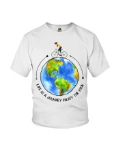 Cycle - Life Is A Journey Enjoy The Ride Youth T-Shirt thumbnail