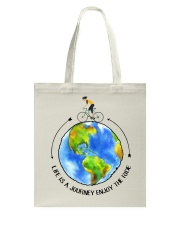 Cycle - Life Is A Journey Enjoy The Ride Tote Bag thumbnail