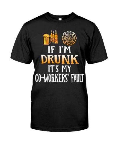 Firefighter - Drunk