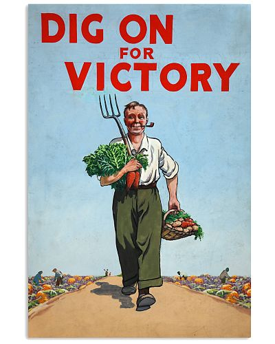 Gardening Dig On For Victory