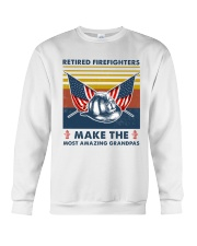 Retired Firefighters Make The Most Grandpas Crewneck Sweatshirt thumbnail