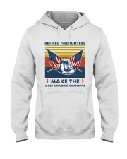 Retired Firefighters Make The Most Grandpas Hooded Sweatshirt thumbnail