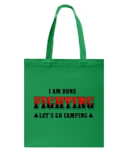 Camping Lets Go Camping Tote Bag tile