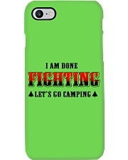 Camping Lets Go Camping Phone Case thumbnail