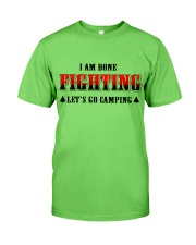 Camping Lets Go Camping Classic T-Shirt front