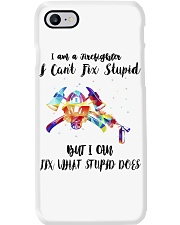 Firefighter - I Can Fix What Stupid Does Phone Case thumbnail