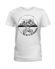 Cycle - Take Me To The Mountain Ladies T-Shirt thumbnail