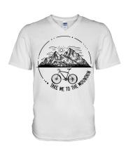 Cycle - Take Me To The Mountain V-Neck T-Shirt thumbnail