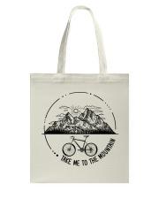 Cycle - Take Me To The Mountain Tote Bag thumbnail
