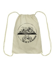 Cycle - Take Me To The Mountain Drawstring Bag thumbnail