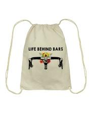 Cycle - Life Behind Bars Drawstring Bag thumbnail