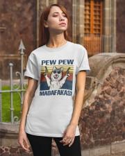 Husky Pew Pew Madafakas Classic T-Shirt apparel-classic-tshirt-lifestyle-06