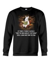 Books  Drop Crewneck Sweatshirt thumbnail