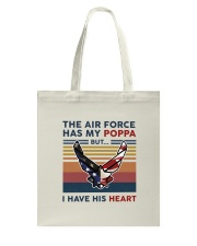Family The Air Force Has My Poppa Tote Bag thumbnail