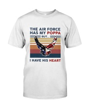 Family The Air Force Has My Poppa Classic T-Shirt front