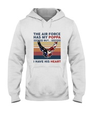 Family The Air Force Has My Poppa Hooded Sweatshirt thumbnail