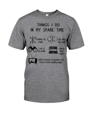 Kayaking - Things I Do In My Spare Time Classic T-Shirt front