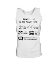 Kayaking - Things I Do In My Spare Time Unisex Tank thumbnail