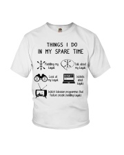Kayaking - Things I Do In My Spare Time Youth T-Shirt thumbnail