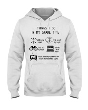 Kayaking - Things I Do In My Spare Time Hooded Sweatshirt thumbnail