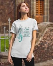 Mermaid Just A Girl Classic T-Shirt apparel-classic-tshirt-lifestyle-06