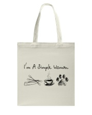 Canoeing - I'm A Simple Woman Tote Bag thumbnail