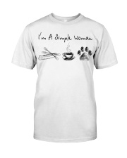 Canoeing - I'm A Simple Woman Classic T-Shirt thumbnail