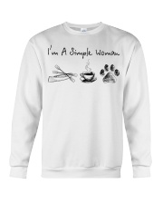 Canoeing - I'm A Simple Woman Crewneck Sweatshirt front