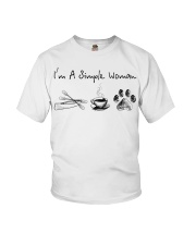 Canoeing - I'm A Simple Woman Youth T-Shirt thumbnail