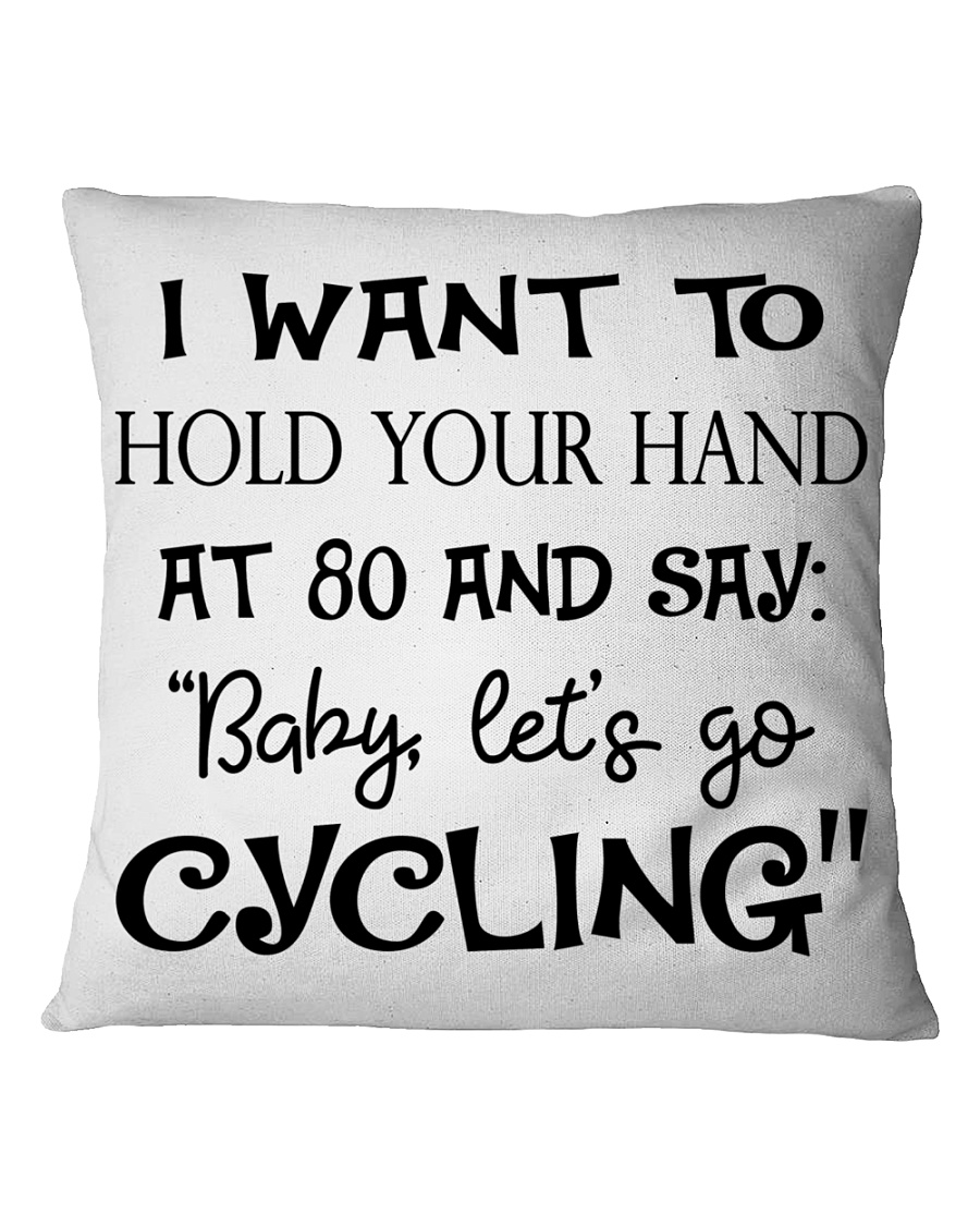 Cycle - Hold Your Hand Square Pillowcase